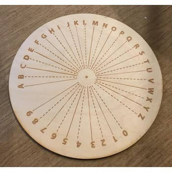 Pendulum Board Crystal Grid | 6""