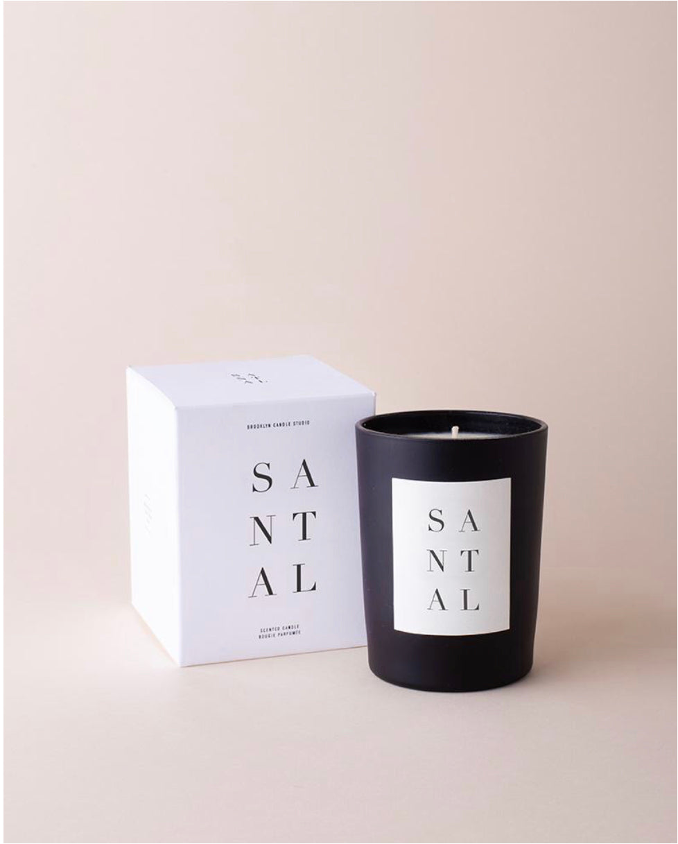 Santal Noir Candle by Brooklyn Candle Studio