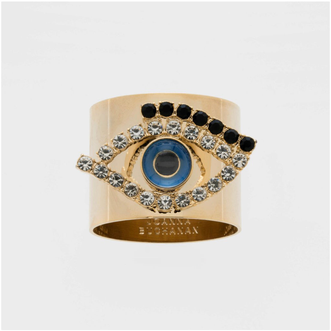 Evil Eye Napkin Rings | Set Of Two