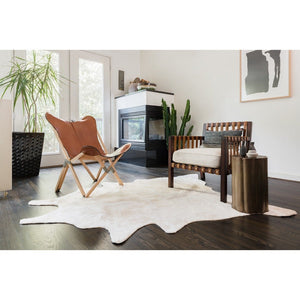 "Faux Cowhide Area Rug | 6'2""x8'"