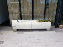 Mirrored 4 Door Credenza | Vintage