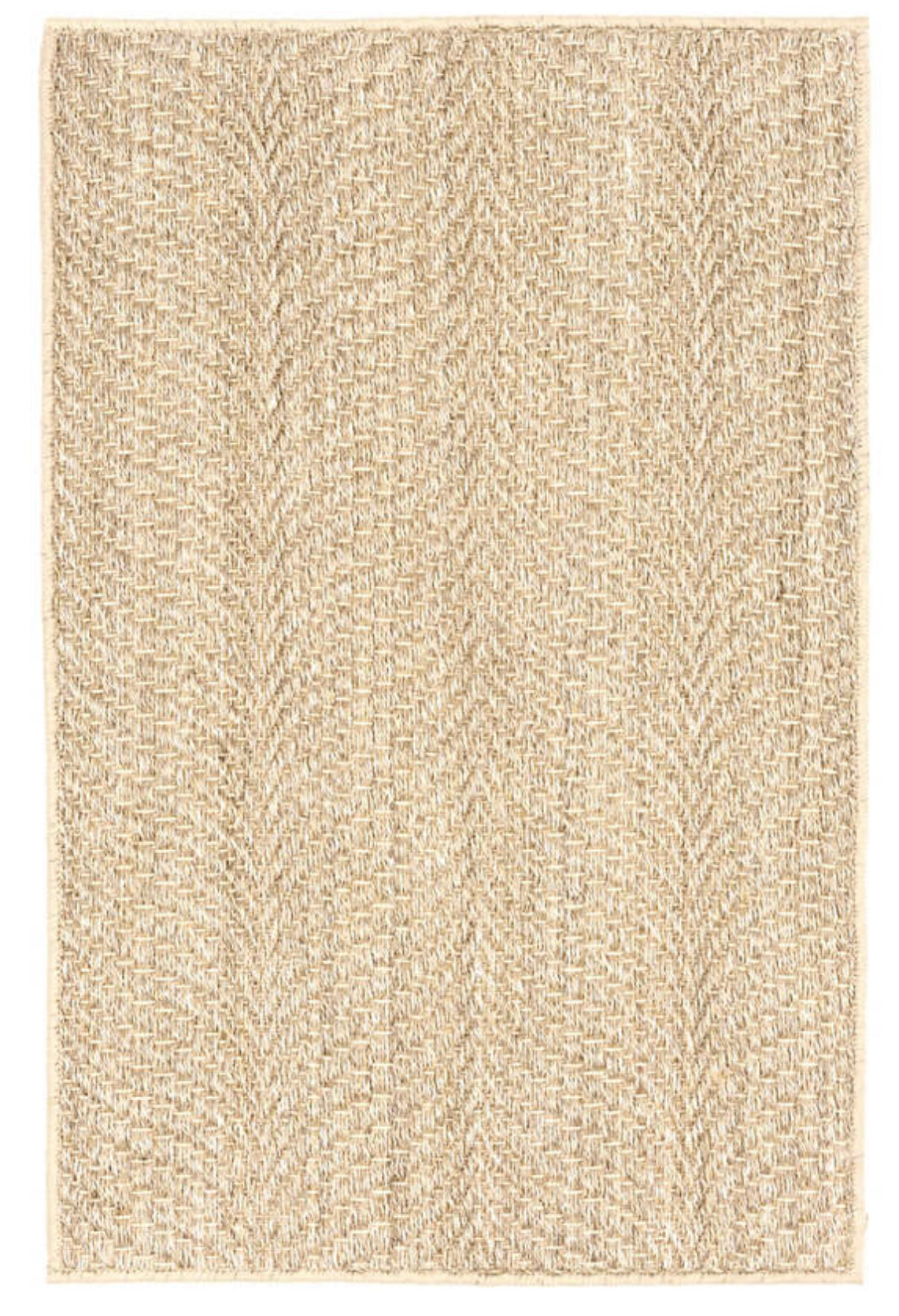 Wave Sisal Rug | Color: Sand | 8' x 10'