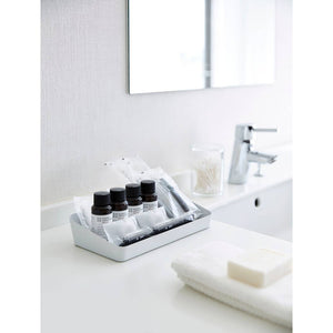 White Large Tower Amenity Wide Tray