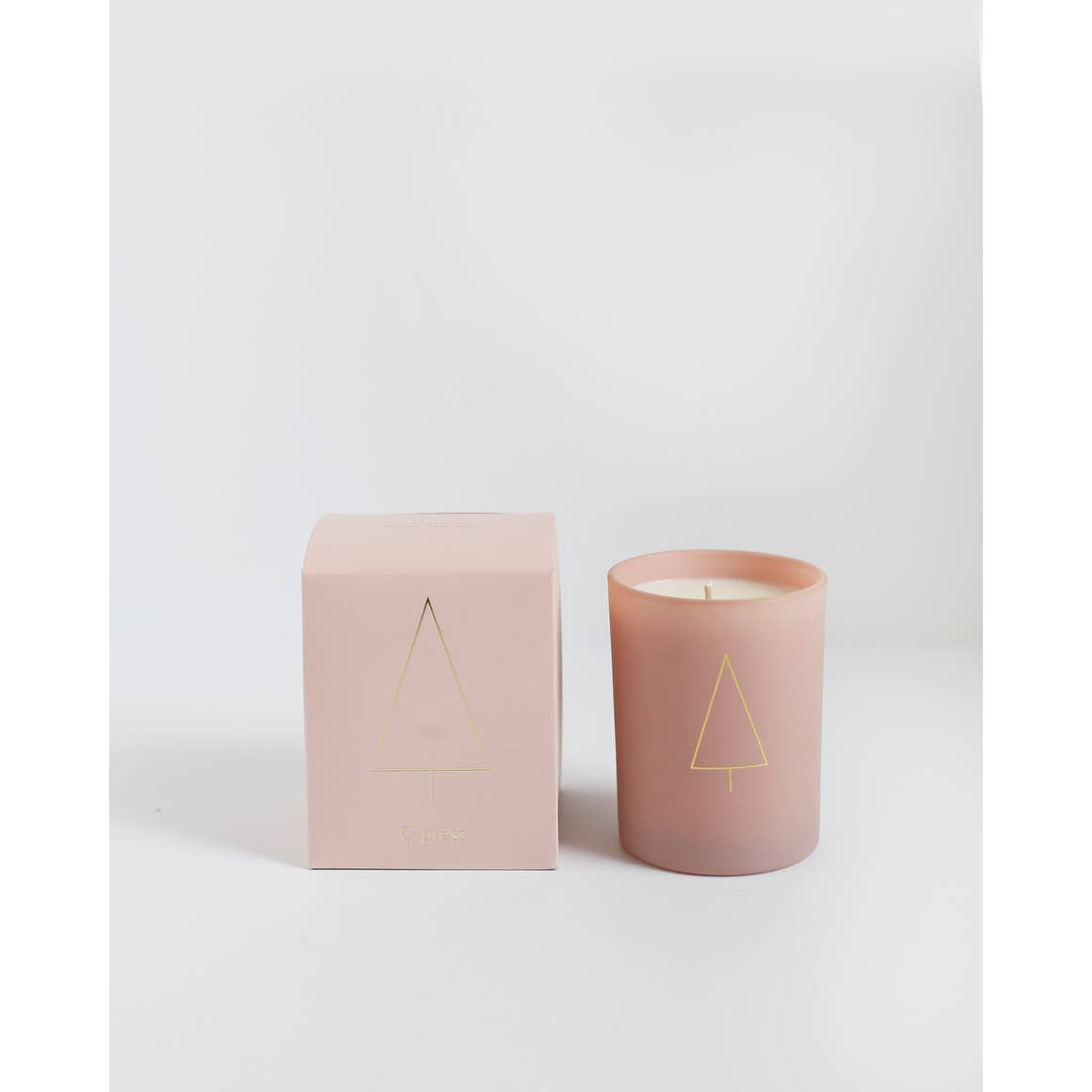 Cypress Pink Candle | Brooklyn Candle Studio