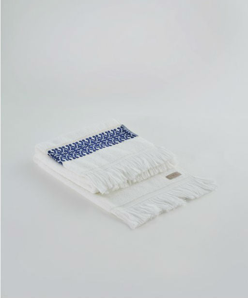Bosphorus Terry Hand Towel | Navy Blue
