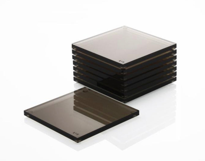 AVF Acrylic Bronze Coasters | Set of 4 | Limited Edition Signed