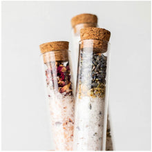 Lavender + Chamomile: Bath Soak Test Tube