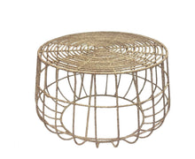Jute Coffee Table | Natural Weave