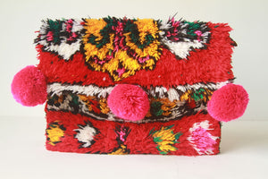 Beni Clutch Red/Yellow