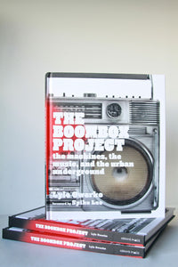 The Boom Box Project Book Lyle Owerko (Signed)