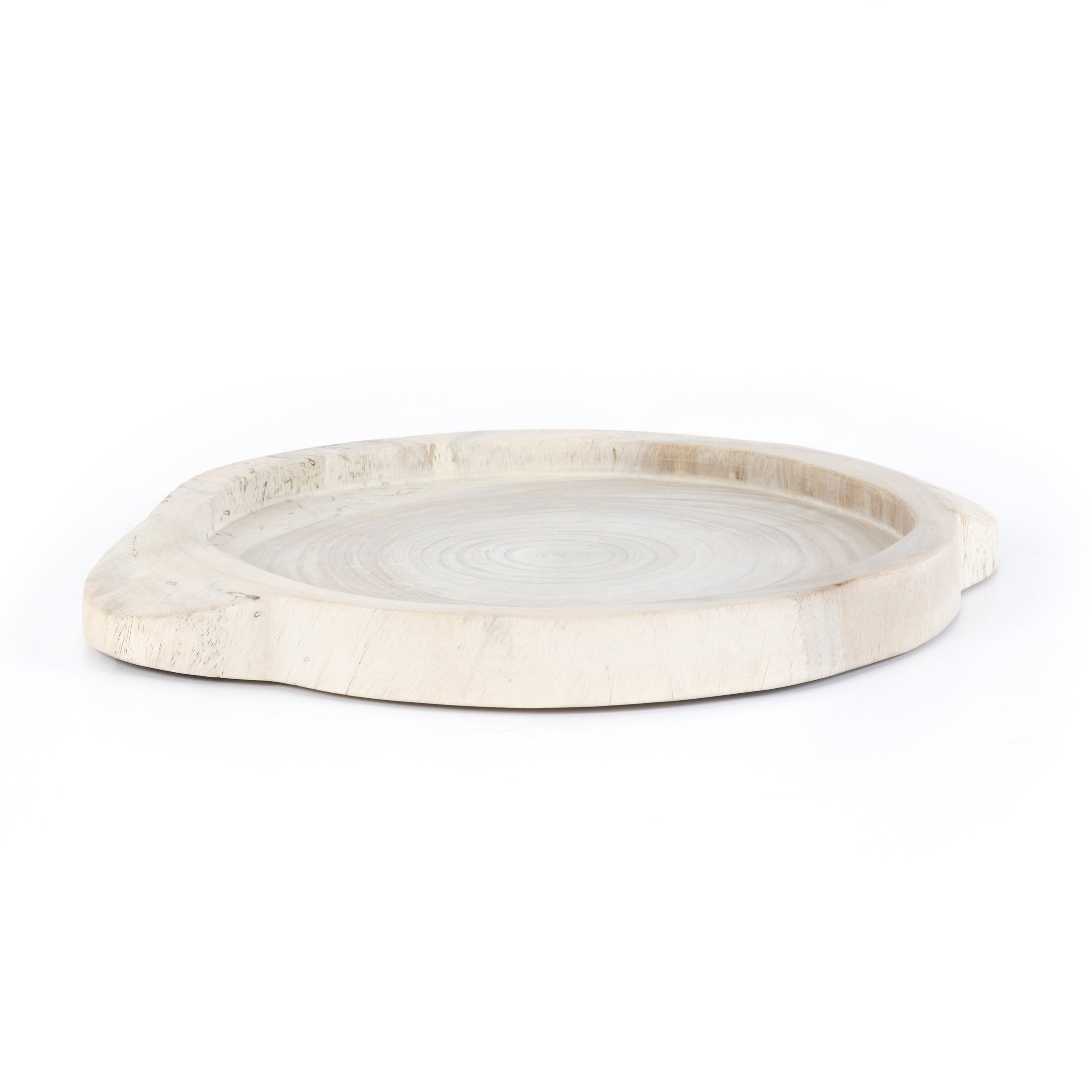Tadeo Wood Tray | Washed White