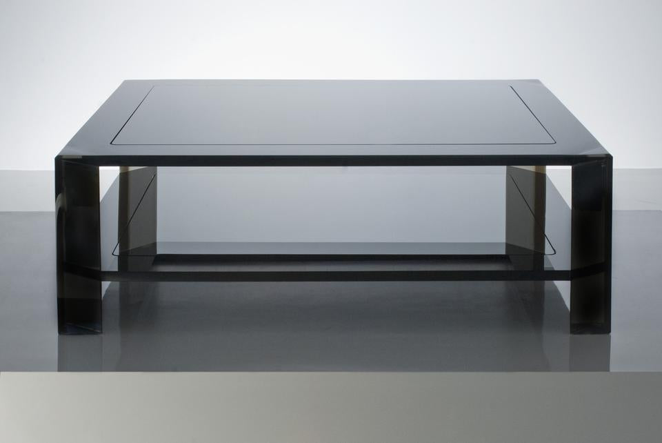 AVF Home | Radiant Coffee Table in Smoke Acrylic