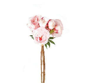 Faux Peonies 21"