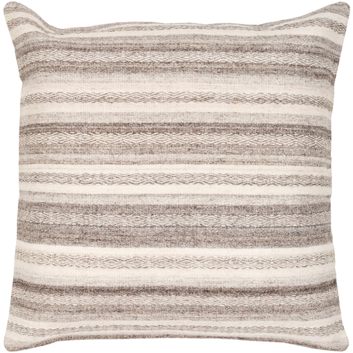 "Isabella Wool Stripe 20""x20"""