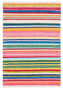 "Bright Stripe Indoor Outdoor Rug | 2.5"" x 8'"