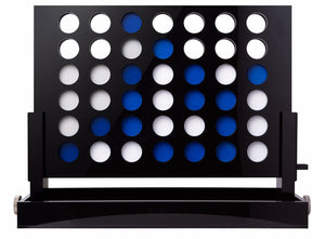 Black Acrylic Connect Four Game