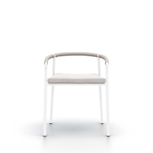 Chord Outdoor Diniing Chair | White & Stone Gray