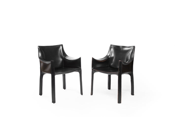 Vintage Black Cassina Chairs