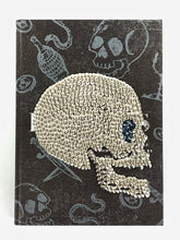 Studded Skull Art Coffee Table Book