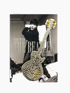 Vintage Beatles Studded Guitar Art Coffee Table Book