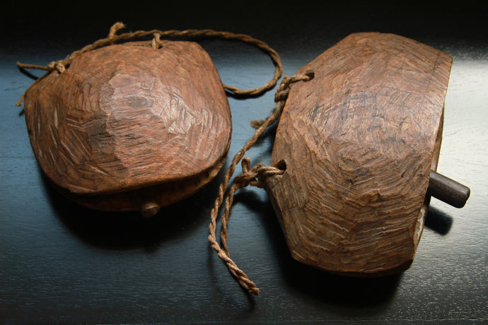 Primitive Wood Cow Bells