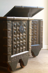 Indian Trunk Side Tables