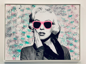 Art by Mr Ramano. Marilyn Monroe
