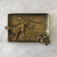 Vintage Hunting Dogs Ashtray