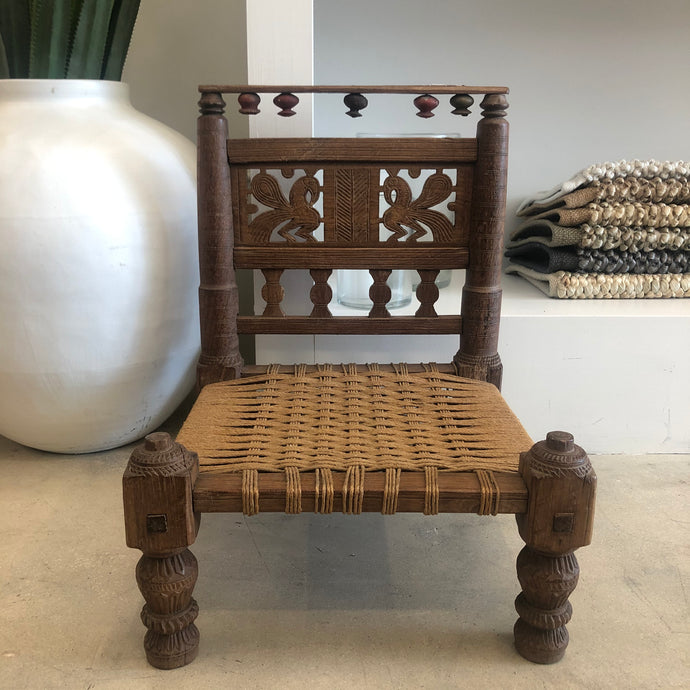Antique Mini Indian Chair