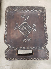 Antique African Mini Studded Tribal Chair