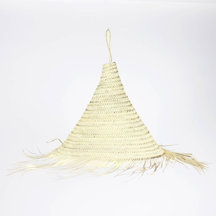Pinacles Straw Light Pendant - Moroccan Light Shade