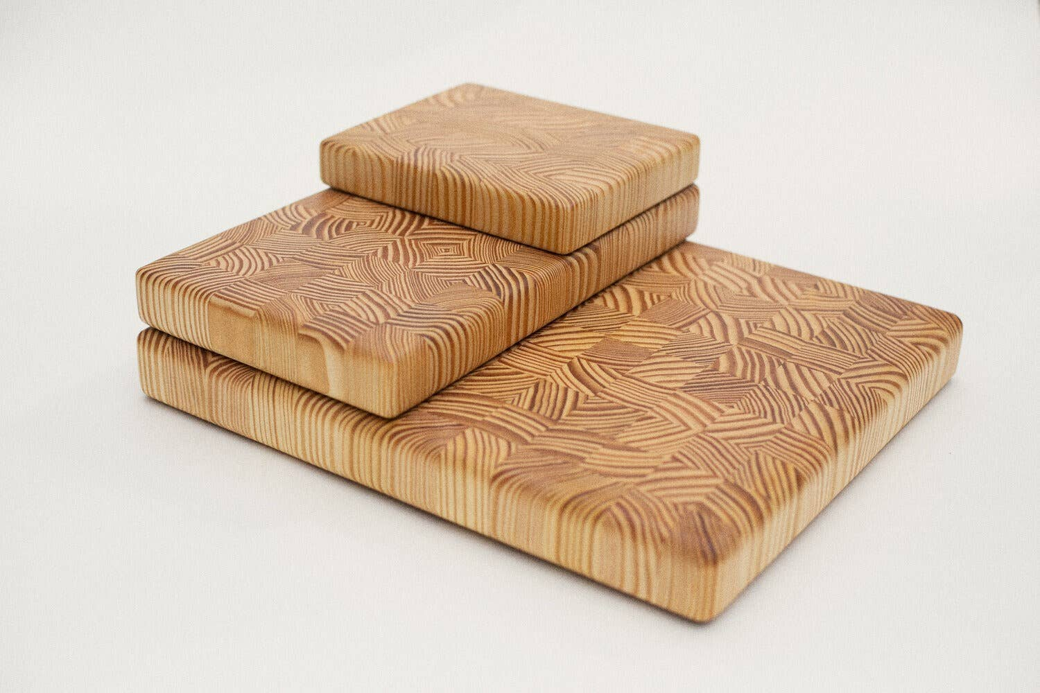 End Grain Cutting Board | Southern Yellow Pine | Large