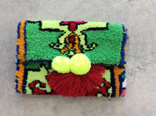 Beni Clutch Yellow/Green/Blue