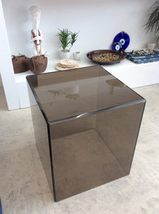 AVF Home M16 Cube Acrylic Side Table