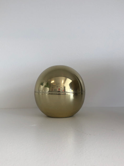 Brass Ball Jar