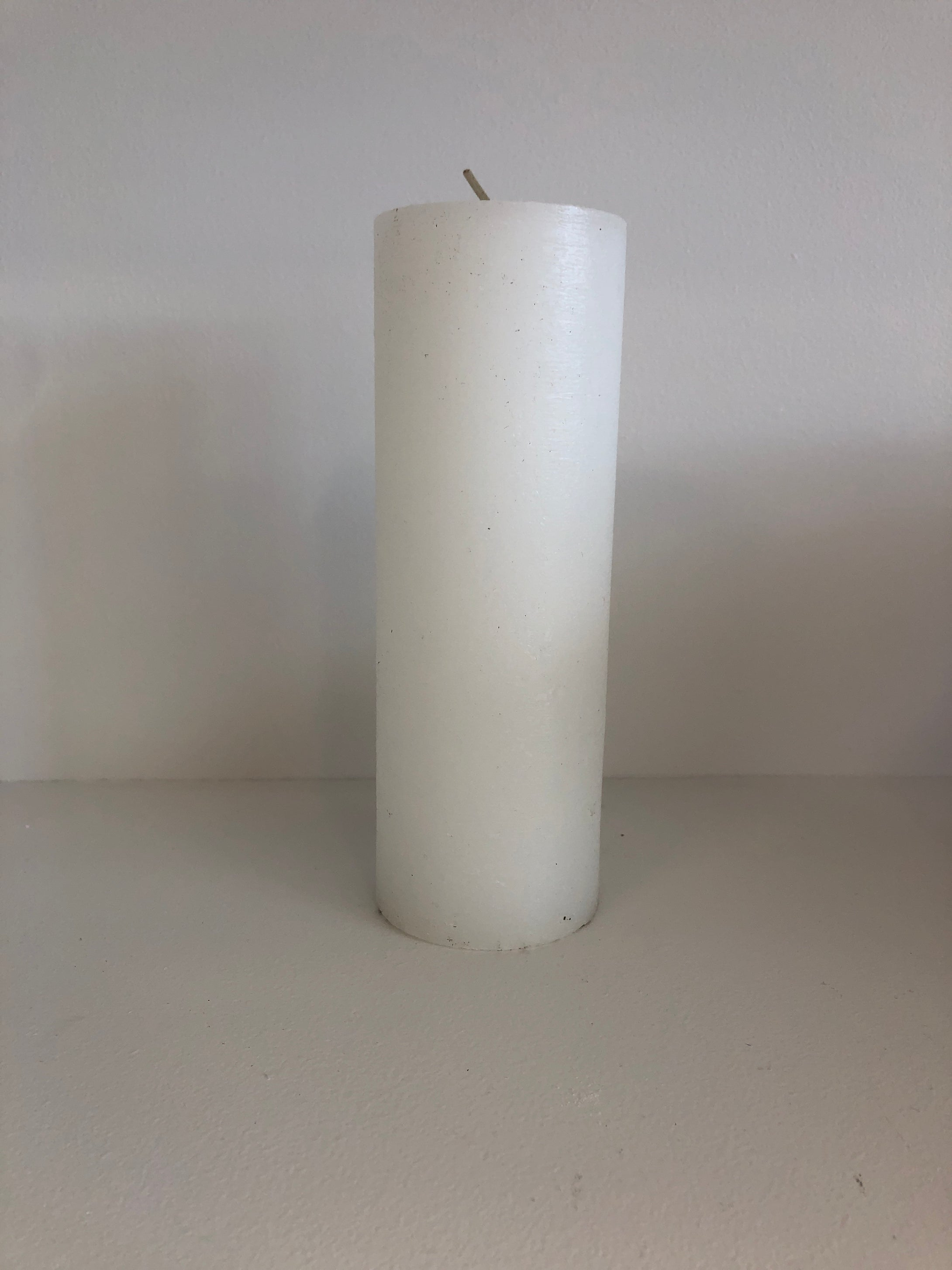 White Round Candle