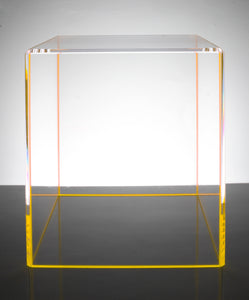 AVF | Yellow On The Rocks End Table