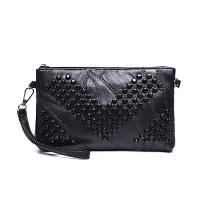Leather Clutch Women Bag