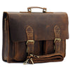 Vintage Horse Leather Messenger Bag