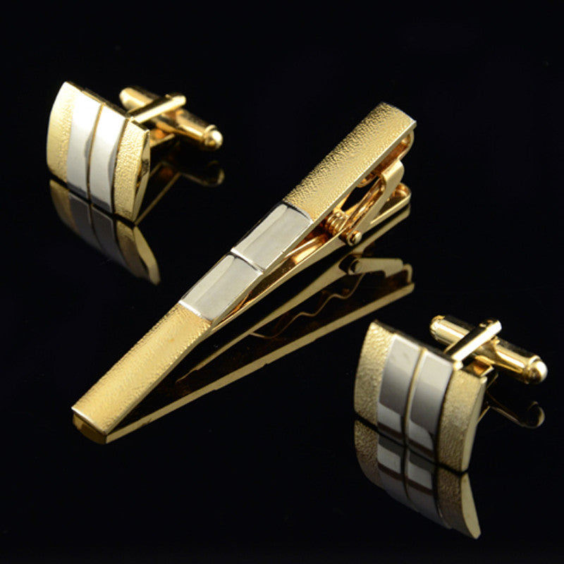 Fashion Matte Cufflinks Suit with Lapel for Mens (Wedding Party) - menswhistle