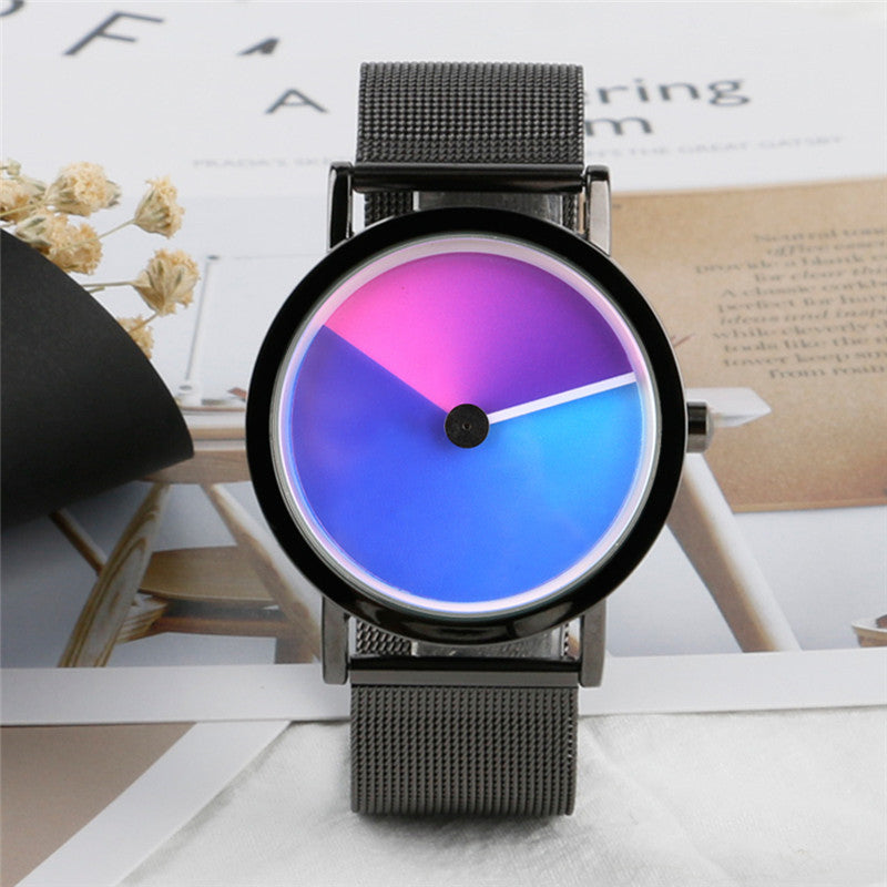 Geek Stylish Watch with Creative Colorful Vortex Dial(minimalist watch) - menswhistle