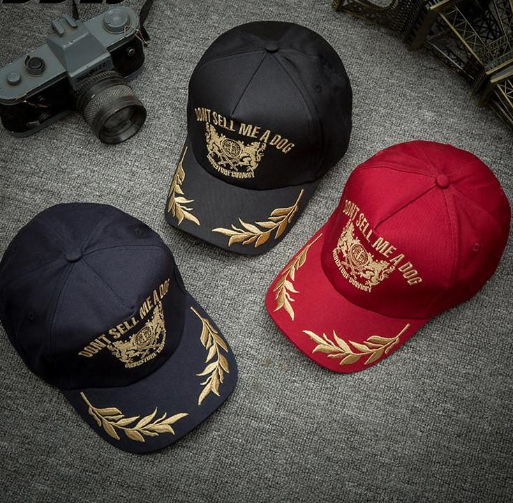 Baseball caps with jeans Embroidery - menswhistle