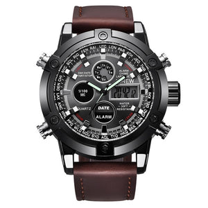 Analog Digital Multifunction Watch