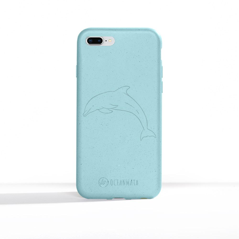 "OceanMata® biologische Apple iPhone Hülle ""Dolphin Edition"" - OceanMata"