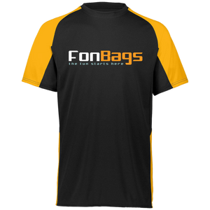 fonbags orange and black t-shirt