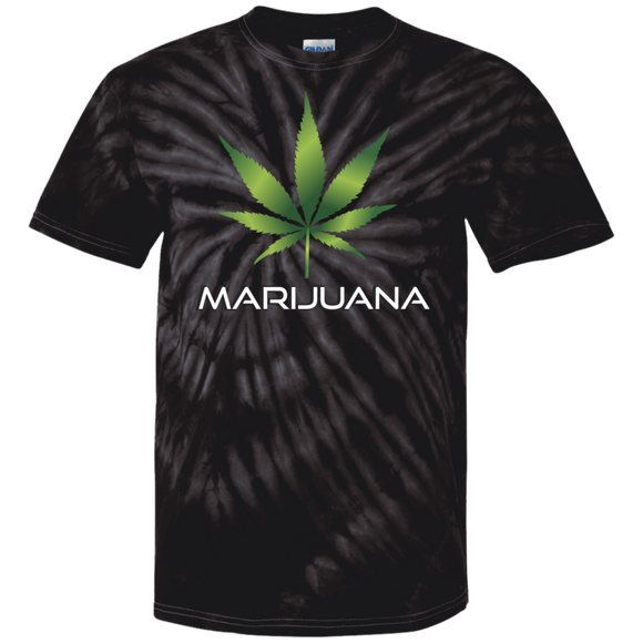 Marijuana 100% Cotton Tie Dye T-Shirt - Fonbags.com
