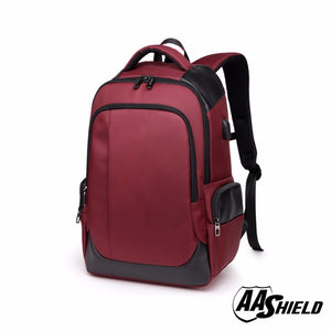 bullet proof backpack color burgundy