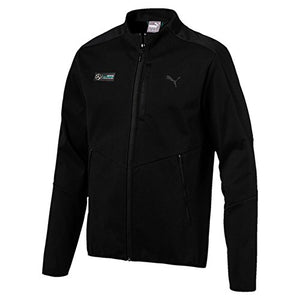 PUMA Mercedes AMG Petronas F1 Men's T7 Sweatshirt Sweat Jacket, Black
