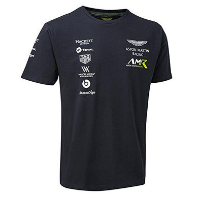 Aston Martin Racing Team Mens T-Shirt 2018 M Blue