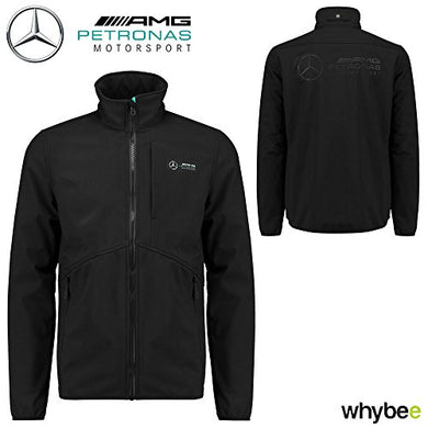 2018 Mercedes-AMG F1 Mens Softshell Jacket Coat Lewis Hamilton Formula 1 Team